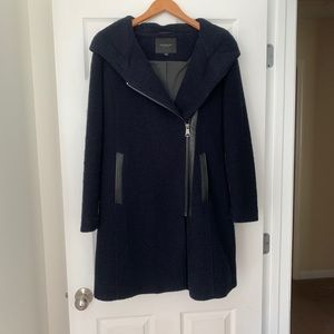 Marc New York Asymmetrical Zip Coat